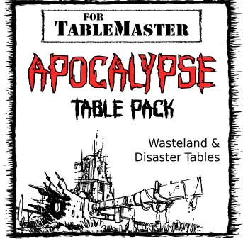 Apocalypse Table Pack box art