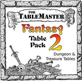 Fantasy Table Pack 2 box art