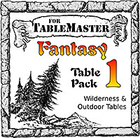 Fantasy Table Pack 1