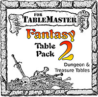 Fantasy Table Pack 2