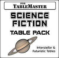 Science Fiction Table Pack