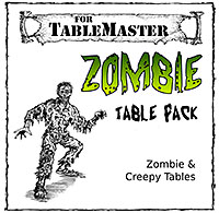 Zombie Table Pack