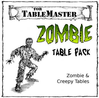 Zombie Table Pack box art